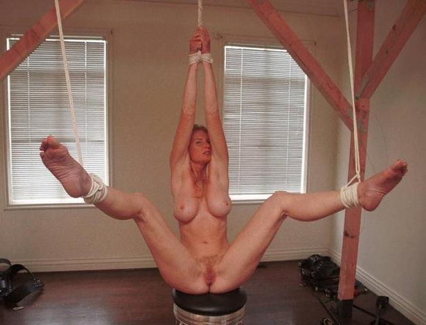mature bdsm pussy and tits
