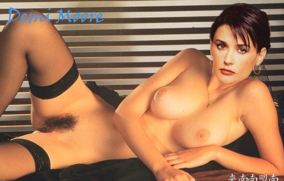 demi moore naked 80s