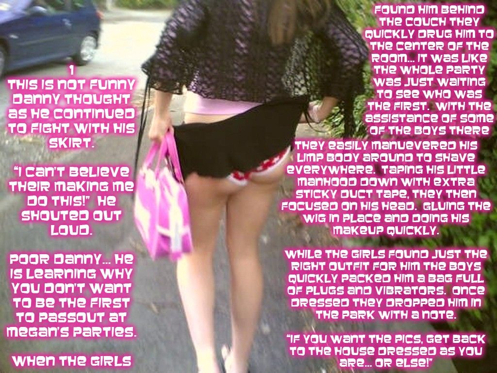 forced sissy captions