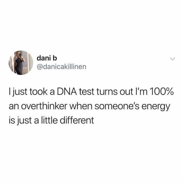 i just took a dna test turns out